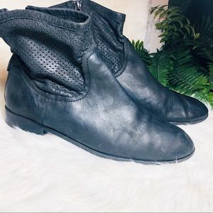 Franco Sarto soft leather ankle boots